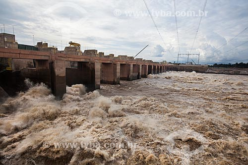 Assunto: Usina Hidrelétrica Santo Antônio - Consórcio Santo Antônio Civil (CSAC) / Local: Porto Velho - Rondônia (RO) - Brasil / Data: 10/2013