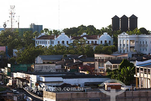 Assunto: Vista do prédio da Universidade Federal de Rondônia e Três Caixas Dagua e ao fundo / Local: Porto Velho - Rondônia (RO) - Brasil / Data: 11/2013