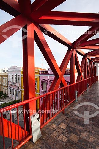 Assunto: Detalhe da passarela do Centro Cultural Dragão do Mar de Arte e Cultura / Local: Fortaleza - Ceará (CE) - Brasil / Data: 11/2013