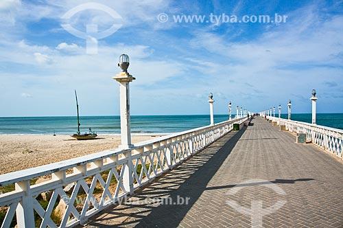 Assunto: Espigão da Praia de Iracema / Local: Fortaleza - Ceará (CE) - Brasil / Data: 11/2013
