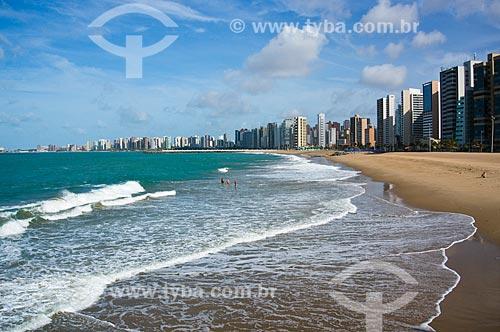 Assunto: Vista da orla de Fortaleza com o espigão da Praia de Iracema / Local: Fortaleza - Ceará (CE) - Brasil / Data: 11/2013