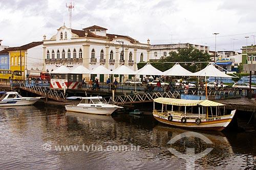 Assunto: Terminal Hidroviário de Valença / Local: Valença - Bahia (BA) - Brasil / Data: 04/1991