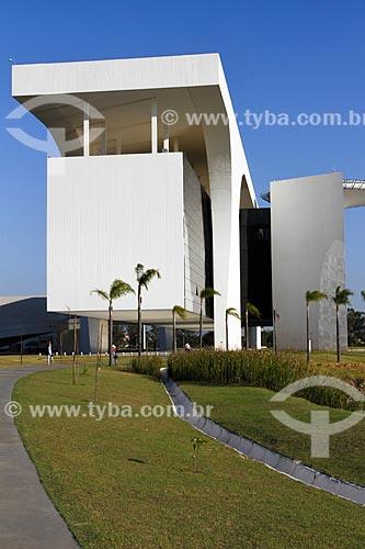 Assunto: Fachada lateral do Palácio Tiradentes - sede do Governo do Estado - na Cidade Administrativa Presidente Tancredo Neves (2010) / Local: Belo Horizonte - Minas Gerais (MG) - Brasil / Data: 08/2013