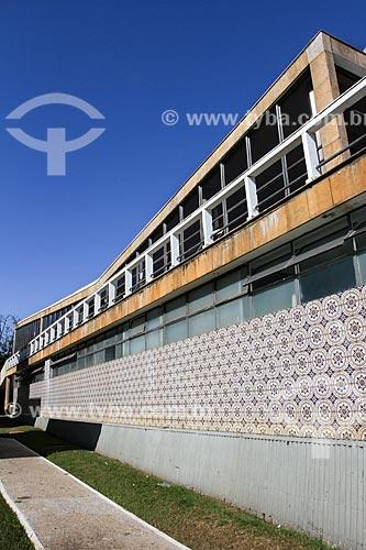 Assunto: Fachada do Iate Tênis Clube (1942) / Local: Pampulha - Belo Horizonte - Minas Gerais (MG) - Brasil / Data: 08/2013