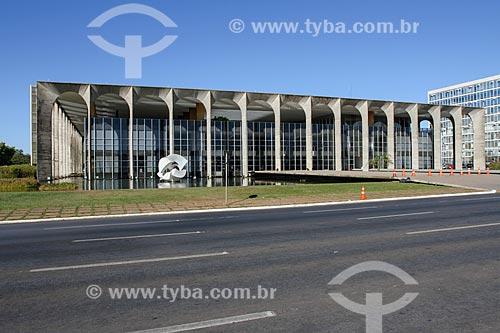Assunto: Fachada do Palácio do Itamaraty / Local: Brasília - Distrito Federal (DF) - Brasil / Data: 08/2013