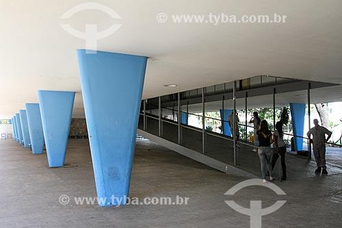 Assunto: Rampa do Escola Estadual Governador Milton Campos - também conhecido como Colégio Estadual Central / Local: Lourdes - Belo Horizonte - Minas Gerais (MG) - Brasil / Data: 08/2013