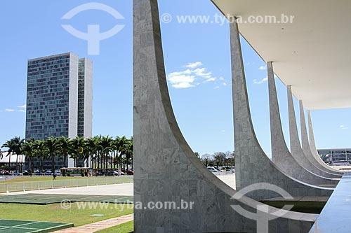 Assunto: Vista do Congresso Nacional a partir do Supremo Tribunal Federal - sede do Poder Judiciário / Local: Brasília - Distrito Federal (DF) - Brasil / Data: 08/2013