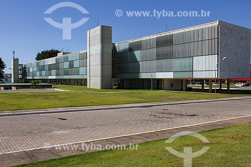Assunto: Fachada do Brasília Palace Hotel (1958) / Local: Brasília - Distrito Federal (DF) - Brasil / Data: 08/2013