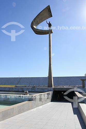 Assunto: Entrada do Memorial JK / Local: Brasília - Distrito Federal (DF) - Brasil / Data: 08/2013