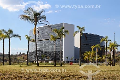 Assunto: Prédio Minas e Prédio Gerais - sede das Secretarias do Governo do Estado - na Cidade Administrativa Presidente Tancredo Neves (2010) / Local: Belo Horizonte - Minas Gerais (MG) - Brasil / Data: 08/2013