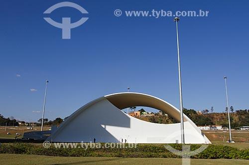 Assunto: Auditório JK na Cidade Administrativa Presidente Tancredo Neves (2010) / Local: Belo Horizonte - Minas Gerais (MG) - Brasil / Data: 08/2013