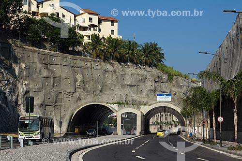 Assunto: Via Binário do Porto com Túnel da Saúde ao fundo / Local: Saúde - Rio de Janeiro (RJ) - Brasil / Data: 01/2014