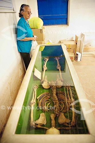 Assunto: Esqueleto humano localizado no Sítio Arqueológico Furna do Estrago / Local: Brejo da Madre de Deus - Pernambuco (PE) - Brasil / Data: 01/2014