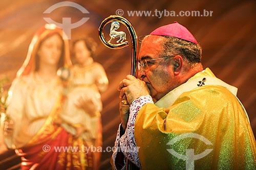 Assunto: Dom Orani João Tempesta - arcebispo do Rio de Janeiro - durante a celebração da missa 90 anos da Igreja Nossa Senhora da Paz / Local: Ipanema - Rio de Janeiro (RJ) - Brasil / Data: 09/2011
