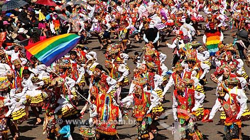 Assunto: Desfile no Inti Raymi - festival religioso da civilização Inca em homenagem a Inti, o deus-sol, que marca o solstício de inverno / Local: Cusco - Peru - América do Sul / Data: 06/2012