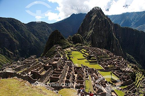 Assunto: Vista geral das ruínas de Machu Picchu / Local: Peru - América do Sul / Data: 06/2012