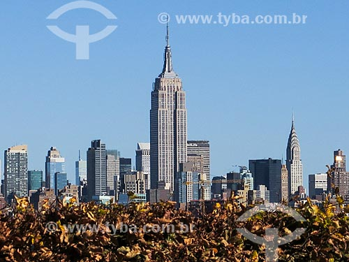 Assunto: Vista de Manhattan com o Empire State Building (1931) / Local: Nova Iorque - Estados Unidos - América do Norte / Data: 11/2013