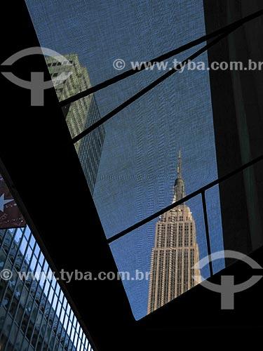 Assunto: Vista do Empire State Building (1931) / Local: Nova Iorque - Estados Unidos - América do Norte / Data: 11/2013