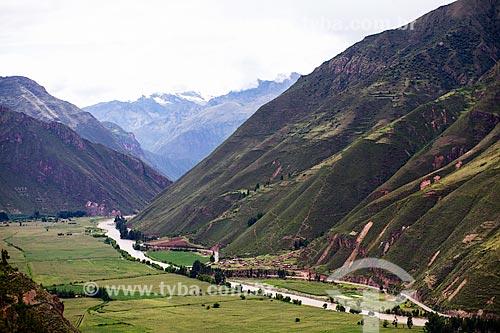 Assunto: Vista do Rio Vilcanota no Vale Sagrado dos Incas / Local: Peru - América do Sul / Data: 12/2011
