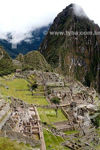 Assunto: Ruínas de Machu Picchu / Local: Peru - América do Sul / Data: 01/2012