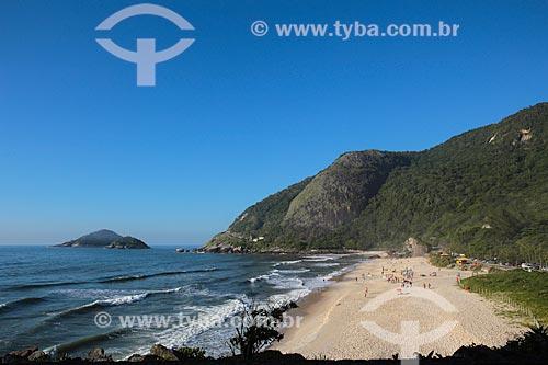 Assunto: Vista do Parque Natural Municipal da Prainha / Local: Recreio dos Bandeirantes - Rio de Janeiro (RJ) - Brasil / Data: 01/2014