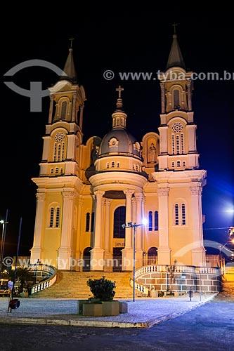 Assunto: Fachada da Catedral de São Sebastião (1967) / Local: Ilhéus - Bahia (BA) - Brasil / Data: 02/2014