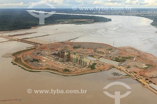 Assunto: Canteiro de obras da Usina Hidrelétrica de Santo Antônio / Local: Porto Velho - Rondônia (RO) - Brasil / Data: 02/2014