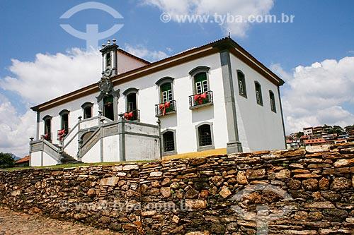 Assunto: Câmara Municipal antiga Casa de Câmara e Cadeia - inaugurada em 1798 / Local: Mariana- Minas Gerais (MG) - Brasil / Data: 12/2007