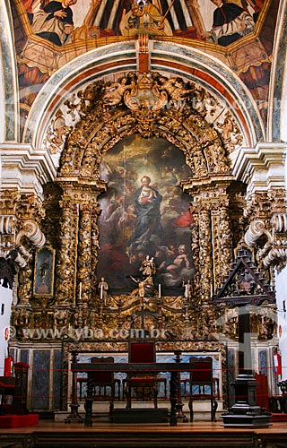 Assunto: Altar-mor da Catedral Basílica Nossa Senhora da Assunção - também conhecida como Igreja da Sé / Local: Mariana- Minas Gerais (MG) - Brasil / Data: 12/2007