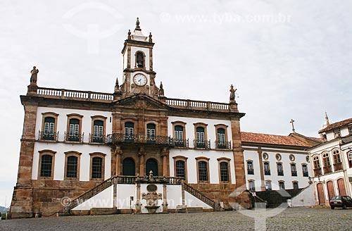 Assunto: Museu da Inconfidência - antiga Casa de Câmara e Cadeia de Vila Rica / Local: Ouro Preto - Minas Gerais (MG) - Brasil / Data: 12/2007