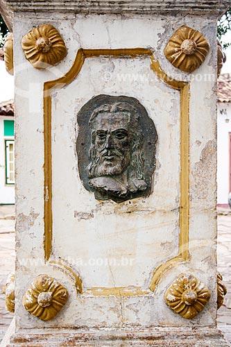 Assunto: Monumento em homenagem à Joaquim José da Silva Xavier / Local: Tiradentes - Minas Gerais - Brasil / Data: 12/2007