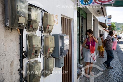 Assunto: Medidores de energia na Avenida Getúlio Vargas / Local: Arraial do Cabo - Rio de Janeiro (RJ) - Brasil / Data: 12/2013