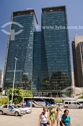 Assunto: Fachada do edifício Ventura Towers / Local: Centro - Rio de Janeiro (RJ) - Brasil / Data: 01/2014