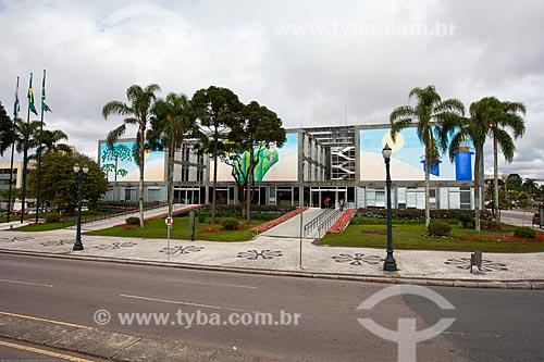 Assunto: Fachada da Prefeitura de Curitiba / Local: Centro Cívico - Curitiba - Paraná (PR) - Brasil / Data: 12/2013