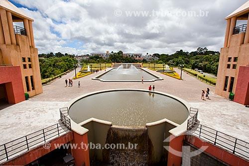 Assunto: Vista do mirante do Parque Tanguá / Local: Curitiba - Paraná (PR) - Brasil / Data: 12/2013