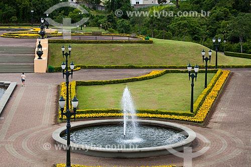 Assunto: Fonte no Parque Tanguá / Local: Curitiba - Paraná (PR) - Brasil / Data: 12/2013