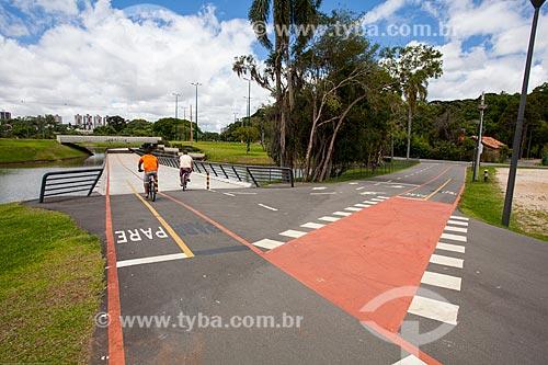 Assunto: Ciclovia no Parque Barigui / Local: Curitiba - Paraná (PR) - Brasil / Data: 12/2013