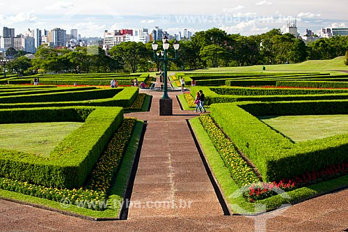 Assunto: Jardim Botânico de Curitiba (Jardim Botânico Francisca Maria Garfunkel Rischbieter) / Local: Jardim Botânico - Curitiba - Paraná (PR) - Brasil / Data: 12/2013