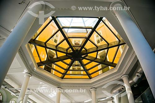 Assunto: Interior da Caixa Cultural Recife (1912) / Local: Recife - Pernambuco (PE) - Brasil / Data: 11/2013