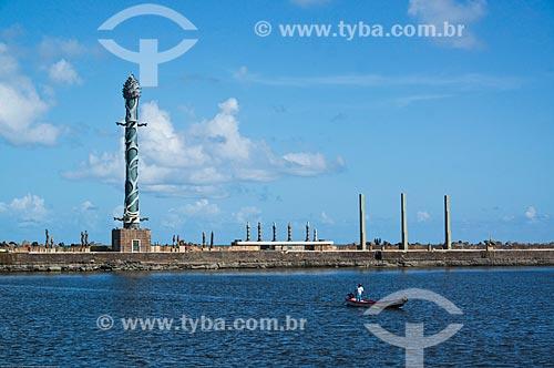 Assunto: Vista do Parque das Esculturas a partir da Praça do Rio Branco - também conhecido como Marco Zero / Local: Recife - Pernambuco (PE) - Brasil / Data: 11/2013