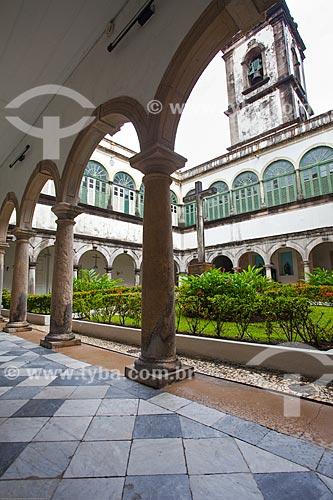 Assunto: Claustro do Convento da Ordem Terceira de São Francisco do Recife / Local: Santo Antônio - Recife - Pernambuco (PE) - Brasil / Data: 11/2013
