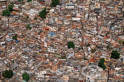 Assunto: Vista aérea do Morro da Mineira / Local: Catumbi - Rio de Janeiro (RJ) - Brasil / Data: 03/2006