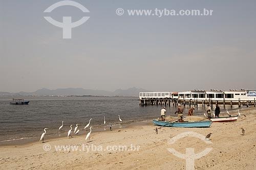 Assunto: Praia da Bica no Jardim Guanabara / Local: Ilha do Governador - Rio de Janeiro (RJ) - Brasil / Data: 09/2010