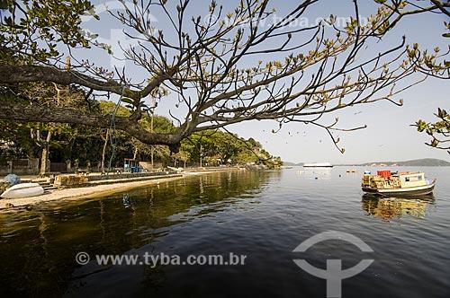 Assunto: Praia dos Frades - também conhecida como Praia Manuel Luís / Local: Paquetá - Rio de Janeiro (RJ) - Brasil / Data: 09/2010