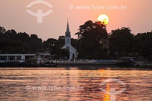 Assunto: Vista da Igreja Matriz do Senhor Bom Jesus do Monte / Local: Paquetá - Rio de Janeiro (RJ) - Brasil / Data: 09/2010