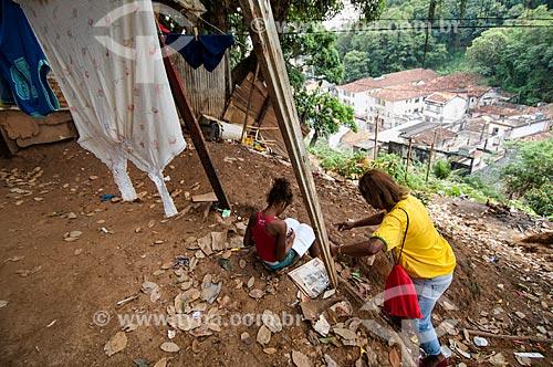 Assunto: Deslizamento de terra no Morro do Fogueteiro / Local: Catumbi - Rio de Janeiro (RJ) - Brasil / Data: 05/2011
