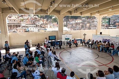 Assunto: Encontro de representantes do poder público com moradores e líderes para falar sobre a UPP Social no Fórum do Morro do Borel / Local: Tijuca - Rio de Janeiro (RJ) - Brasil / Data: 06/2011