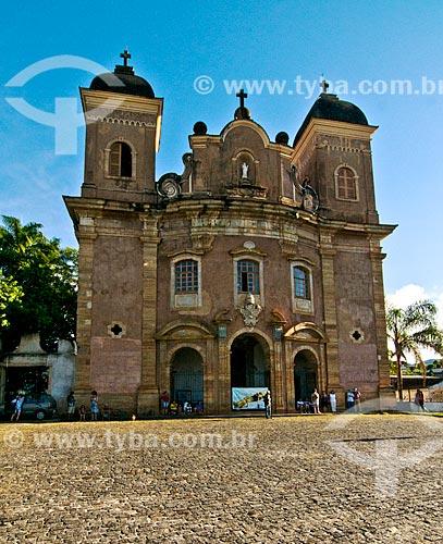 Assunto: Fachada da Igreja de São Pedro dos Clérigos (1752) / Local: Mariana - Minas Gerais (MG) - Brasil / Data: 01/2014