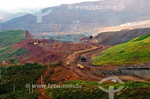 Assunto: Mina de Timbopeba da Companhia Vale do Rio Doce / Local: Ouro Preto - Minas Gerais (MG) - Brasil / Data: