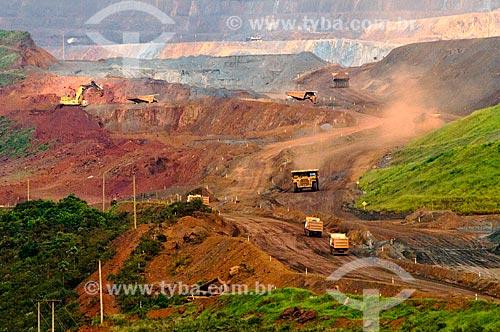 Assunto: Mina de Timbopeba da Companhia Vale do Rio Doce / Local: Ouro Preto - Minas Gerais (MG) - Brasil / Data: 01/2014